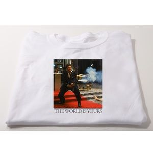 🆕Scarface the world is yours T-shirt